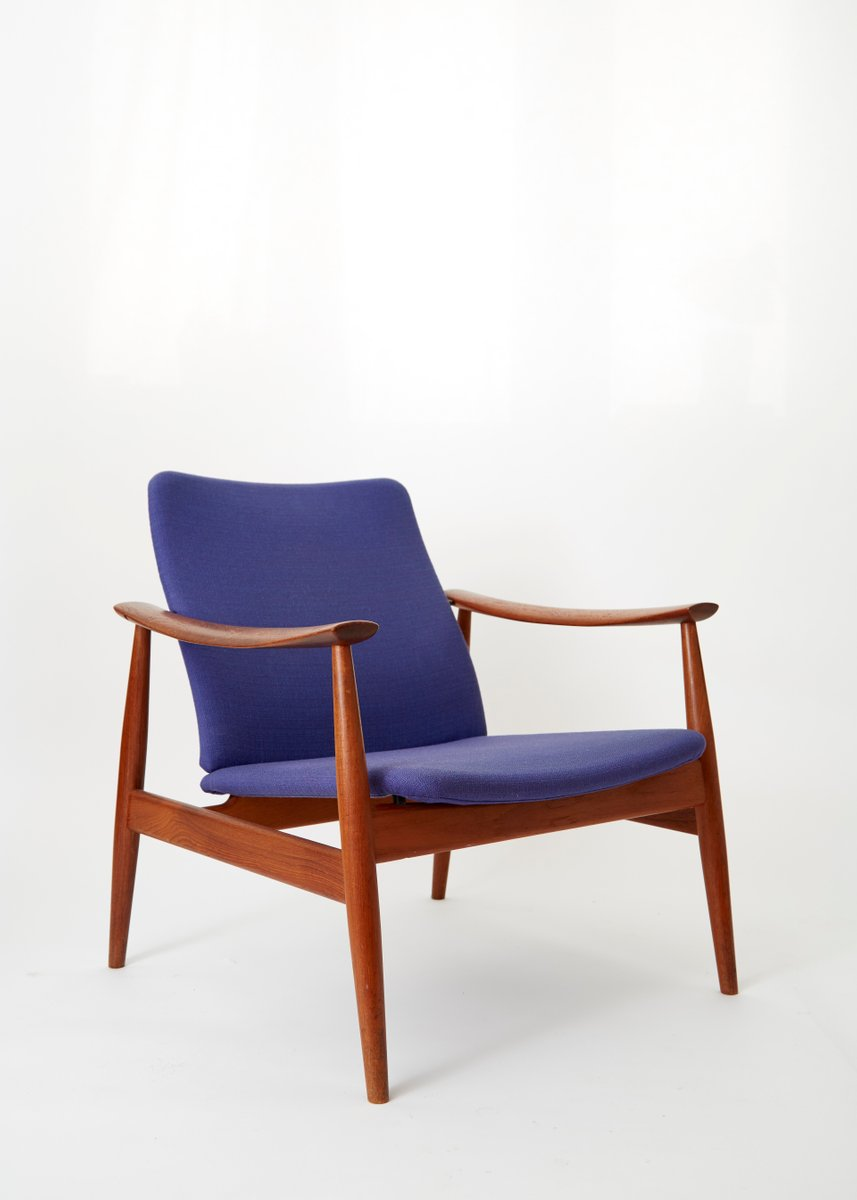 Wonderful Mid Century Model 138 Easy Chair By Finn Juhl For France U0026 Søn For Sale At  Pamono