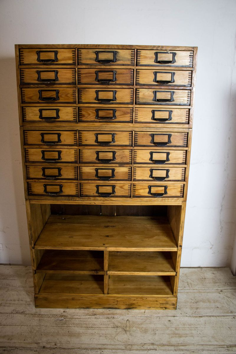 vintage pine filing cabinet for sale at pamono. Black Bedroom Furniture Sets. Home Design Ideas