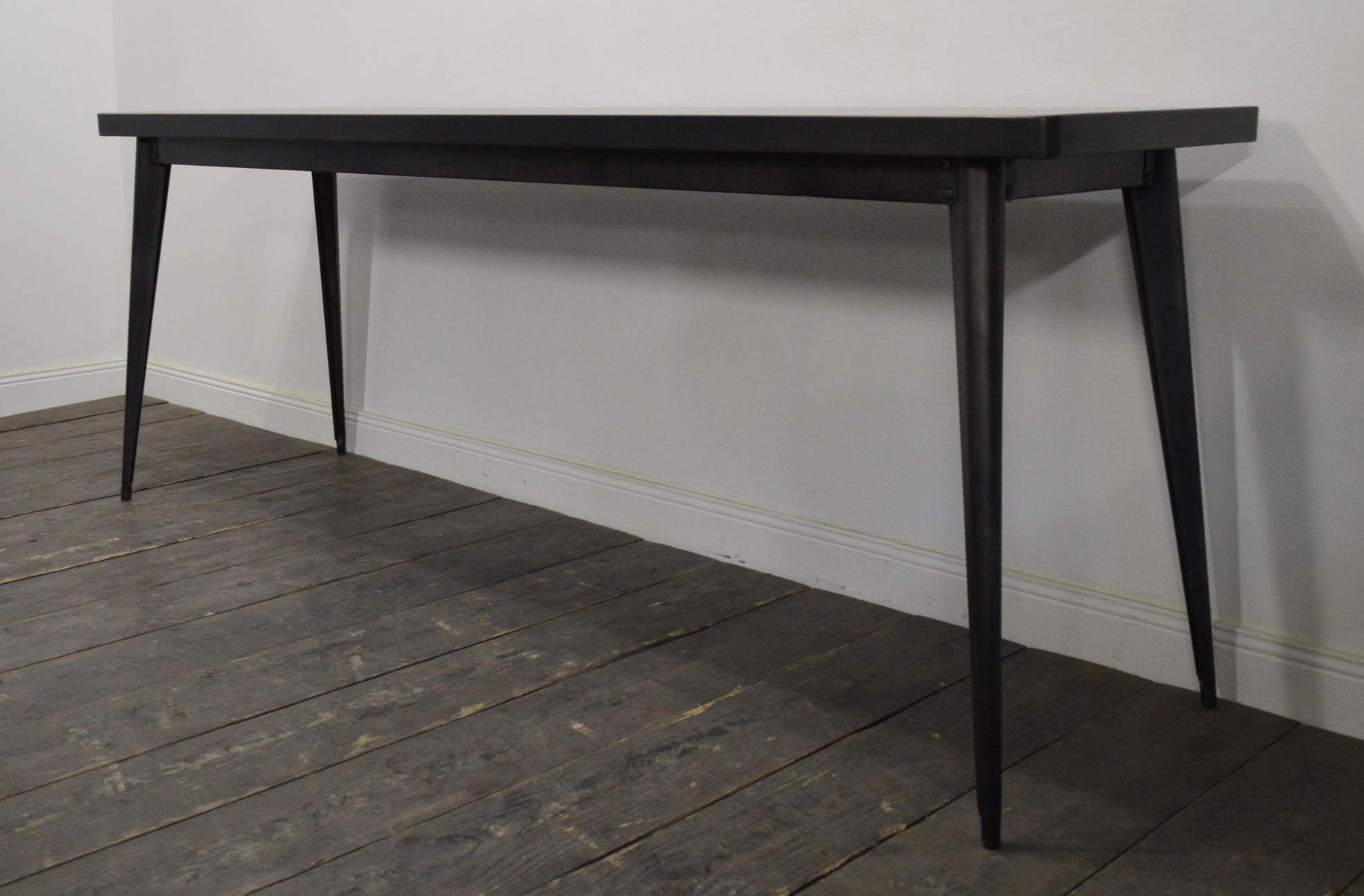 Mid century french console table from tolix 1950s for for Table exterieur tolix