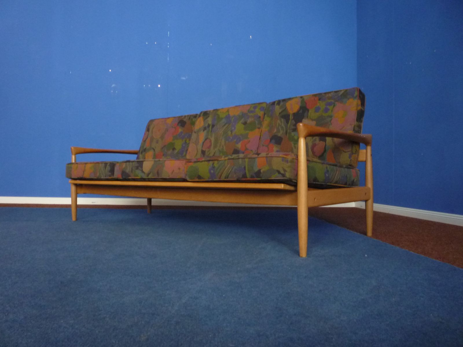 Mid century sofa from poland 1960s for sale at pamono for Furniture made in poland