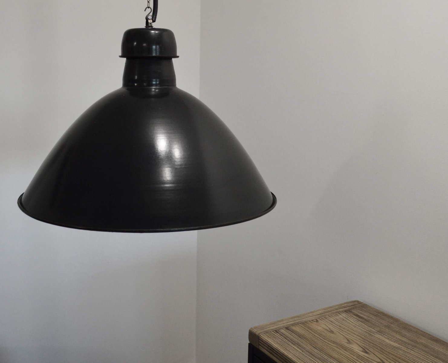 Vintage industrial suspension light for sale at pamono - Suspension vintage industriel ...