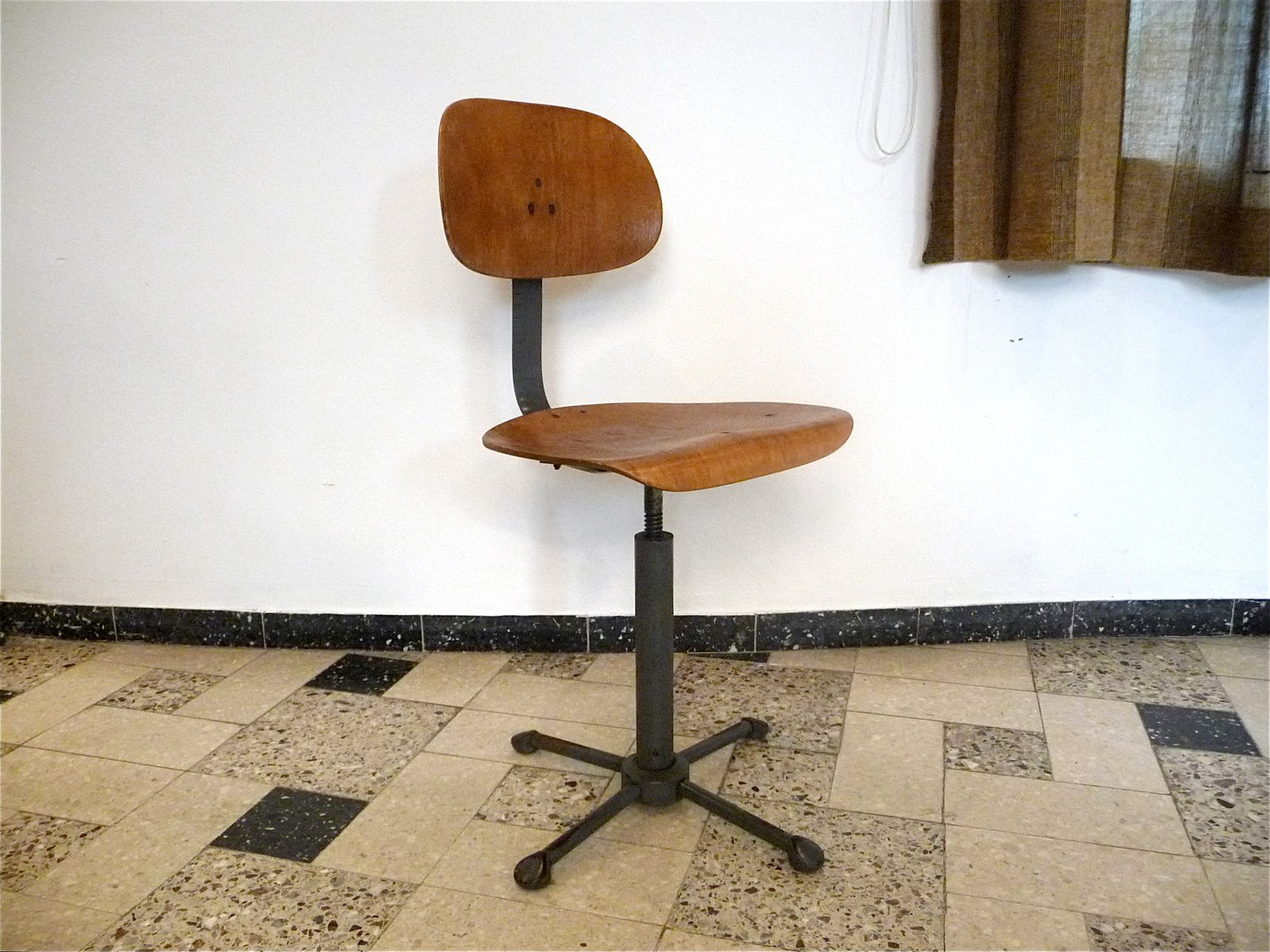 German Industrial Swivel Chair 1930s for sale at Pamono