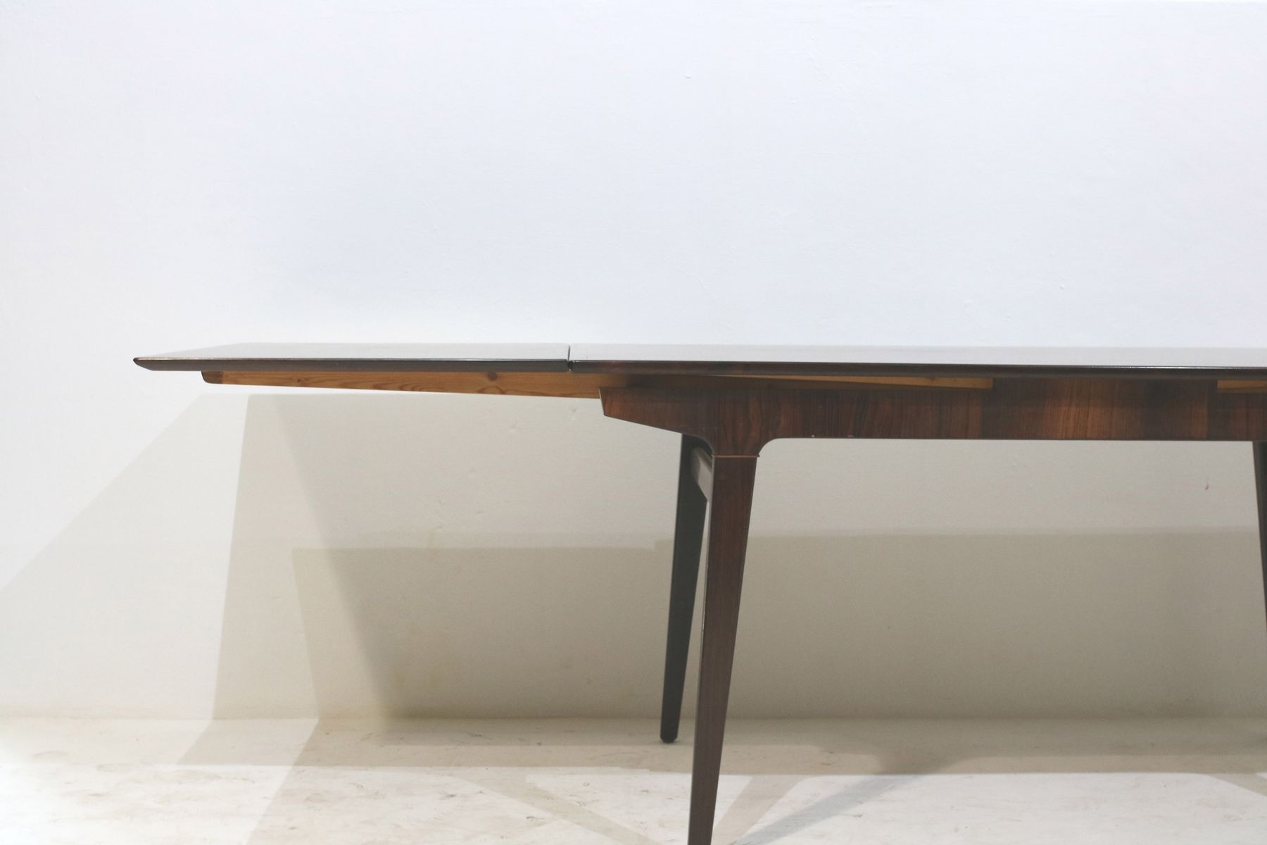 vintage rosewood extendable dining table by johannes andersen for