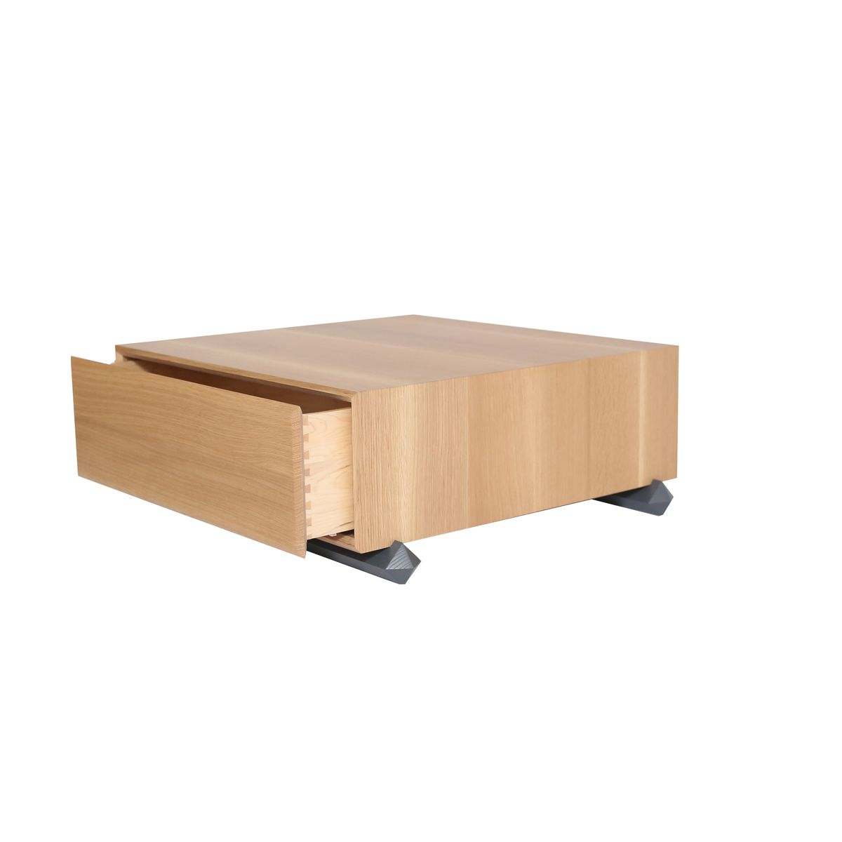 Stack Storage Wood Coffee Table With Drawers From Debra Folz Design For Sale At Pamono