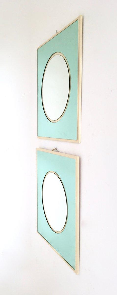 Italienische wandspiegel aus holz lackiertem und - Italienische designer wandspiegel ...