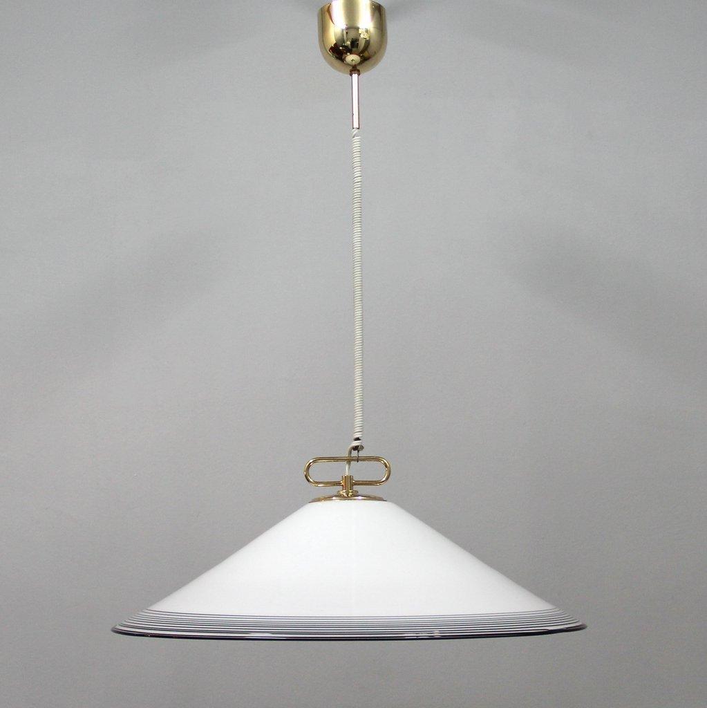 gro e lampe aus murano glas 1980er bei pamono kaufen. Black Bedroom Furniture Sets. Home Design Ideas