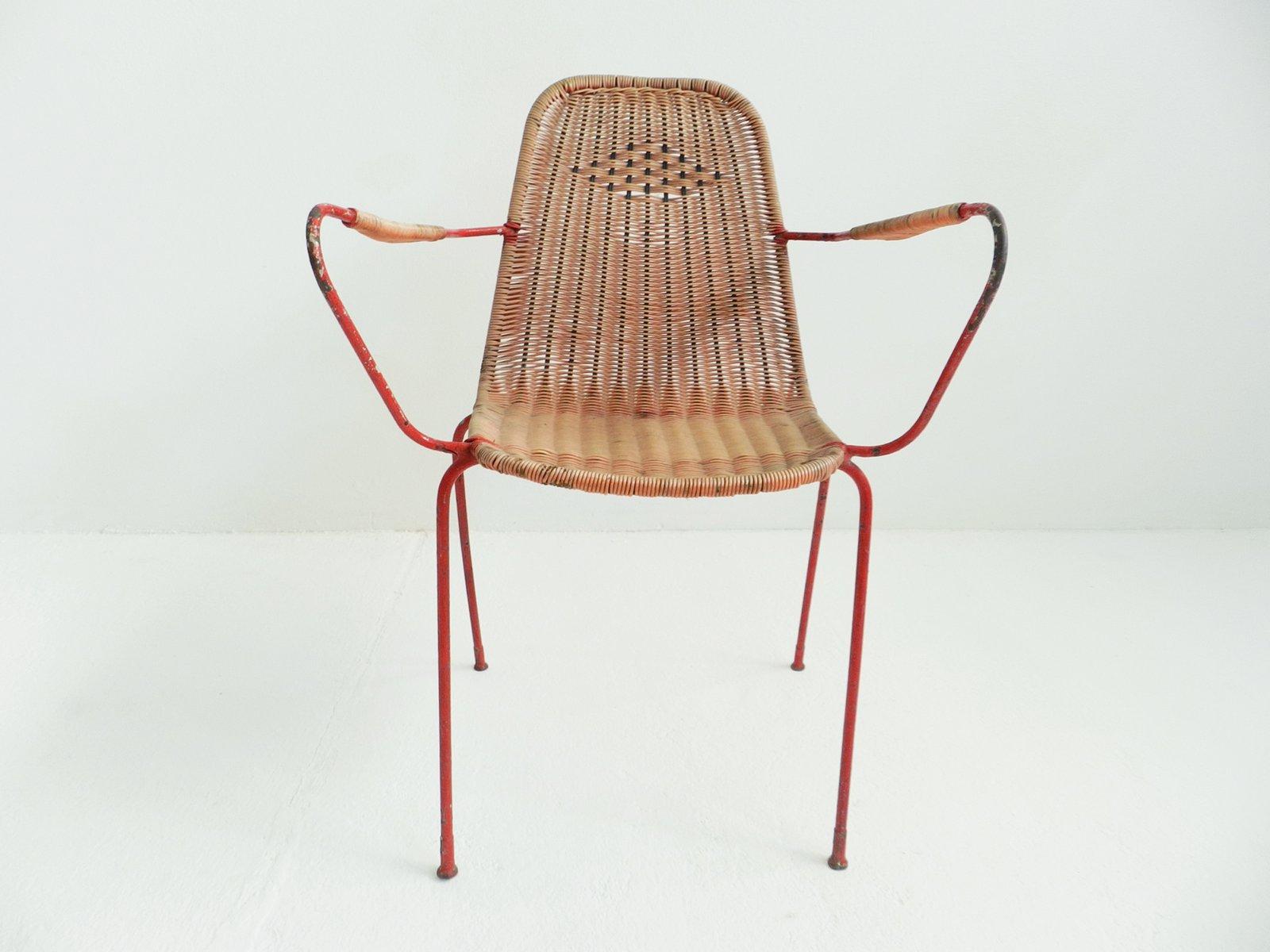 Garden Chair Set Part - 49: Italian Vintage Garden Chairs, Set Of 6