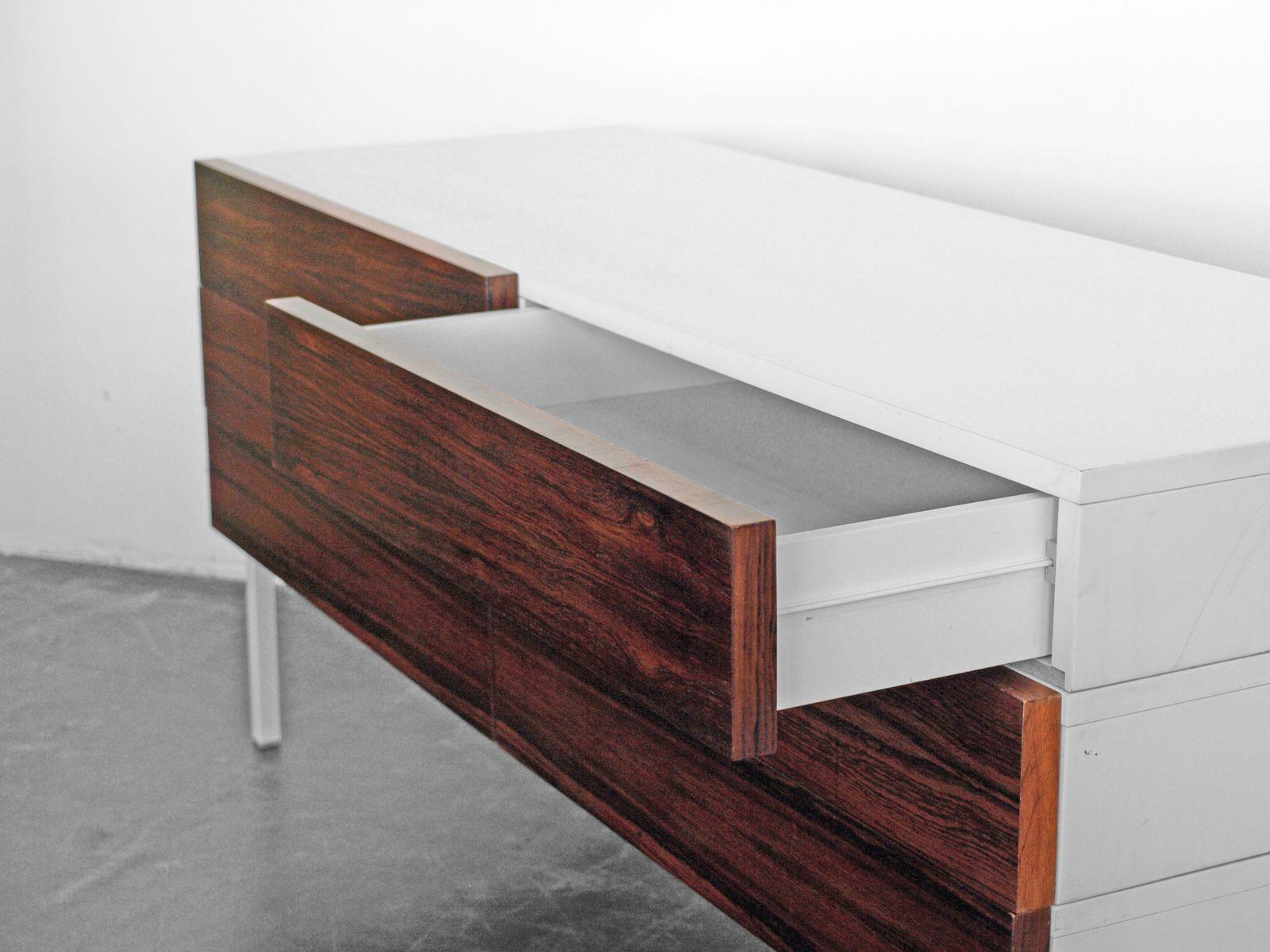 vintage sideboard aus rio palisander von interl bke. Black Bedroom Furniture Sets. Home Design Ideas
