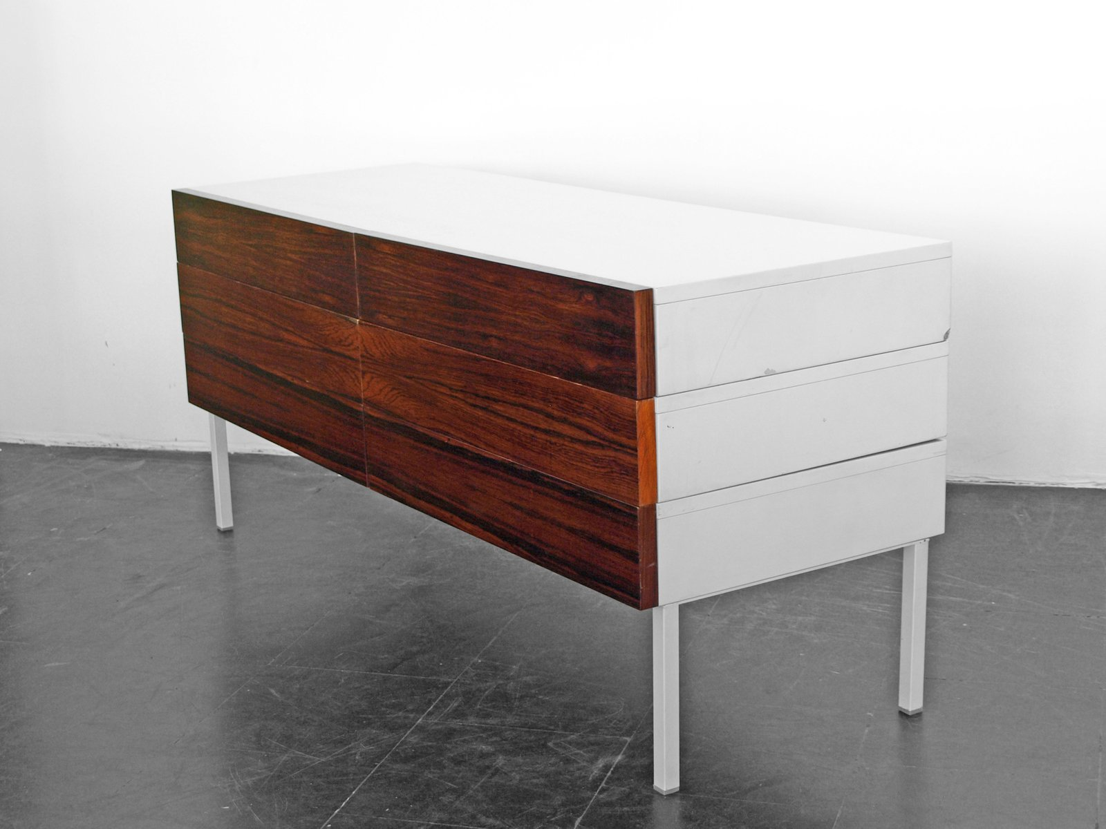 vintage sideboard in rio rosewood from interl bke 1970s for sale at pamono. Black Bedroom Furniture Sets. Home Design Ideas