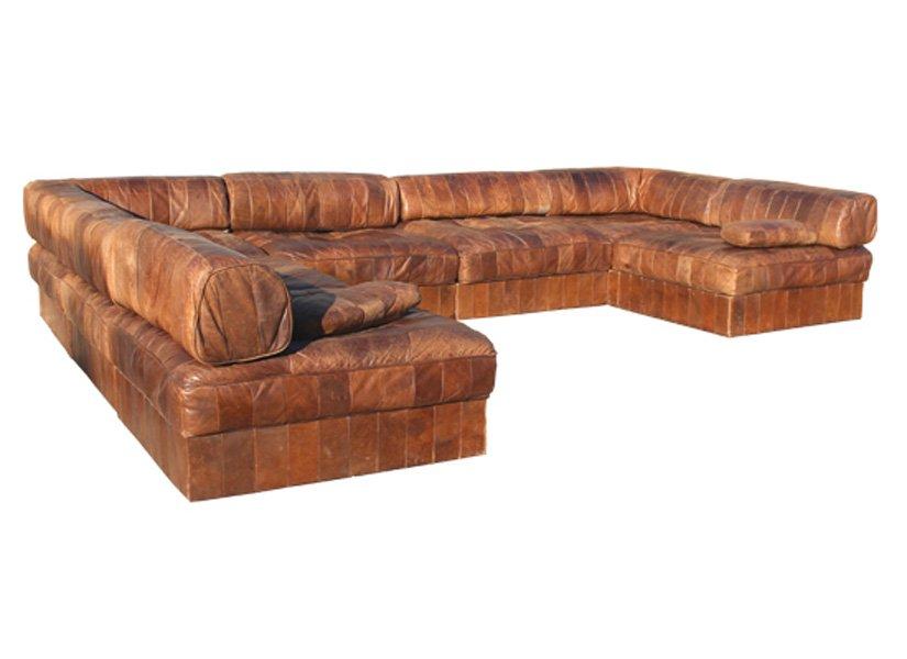 large corner sofa from de sede 1980s for sale at pamono. Black Bedroom Furniture Sets. Home Design Ideas