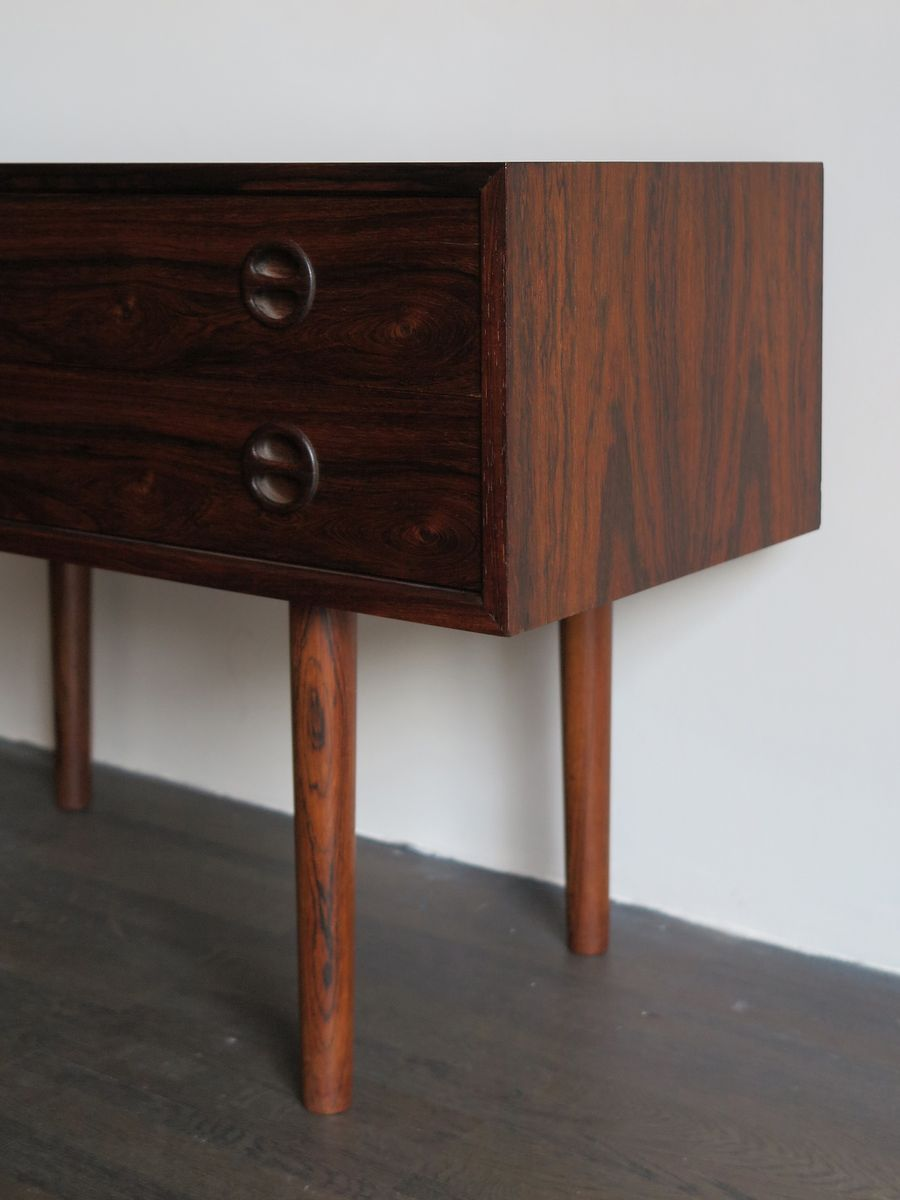 Small Mid Century Living Room: Mid-Century Danish Small Rosewood Commode, 1950s For Sale