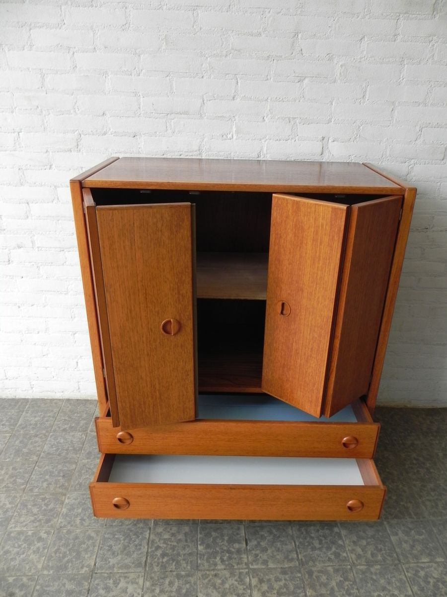 Vintage cabinet with two doors and two drawers for sale at for Kitchen drawers for sale