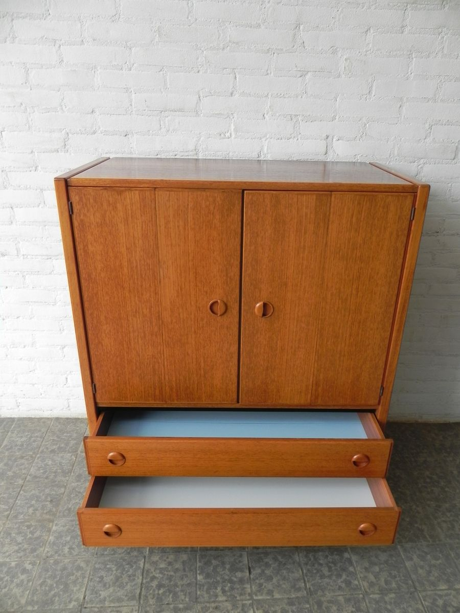 Vintage Cabinet With Two Doors And Two Drawers For Sale At Pamono