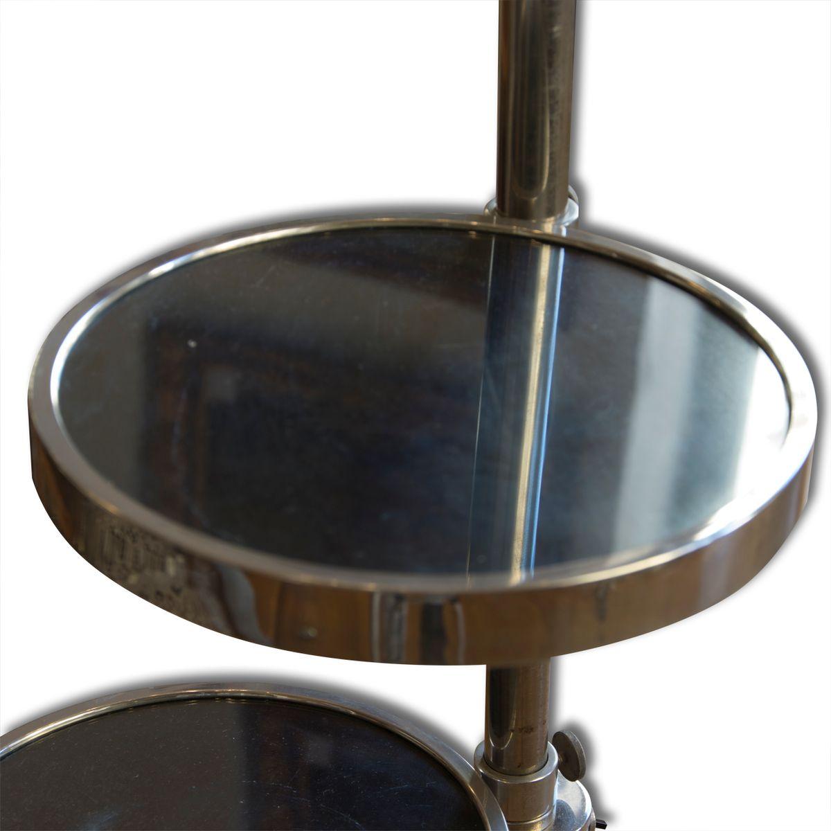 tschechische bauhaus stehlampe mit lautsprecher 1930er bei pamono kaufen. Black Bedroom Furniture Sets. Home Design Ideas