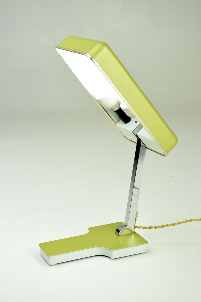 Vintage Small Green Desk Lamp from Fase 1960s for sale at Pamono – Green Desk Lamp
