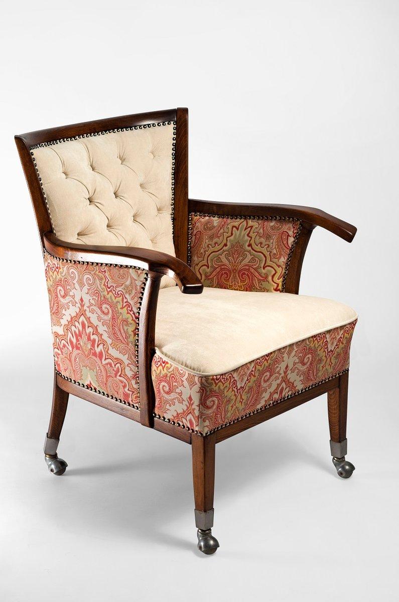 vintage sessel mit paisleymuster bei pamono kaufen. Black Bedroom Furniture Sets. Home Design Ideas