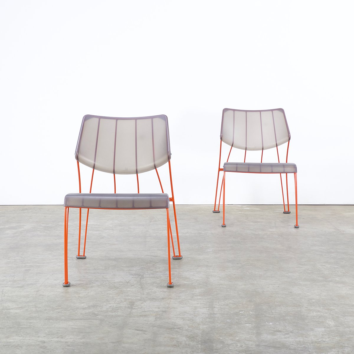 Ps hasslo chairs by monika mulder for ikea 1990s set of 2 for sale at pamono - Sedia trasparente ikea ...