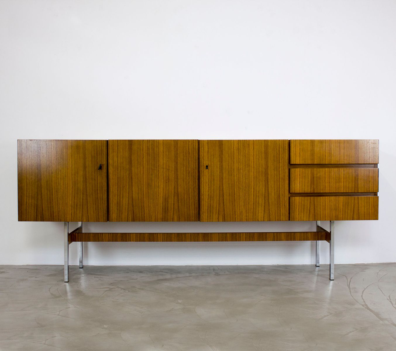 mid century modern palisander sideboard from musterring international 1967 for sale at pamono. Black Bedroom Furniture Sets. Home Design Ideas