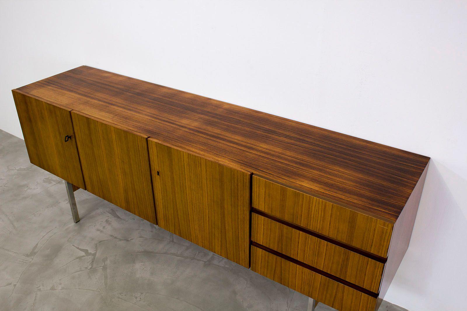 mid century modern palisander sideboard from musterring. Black Bedroom Furniture Sets. Home Design Ideas