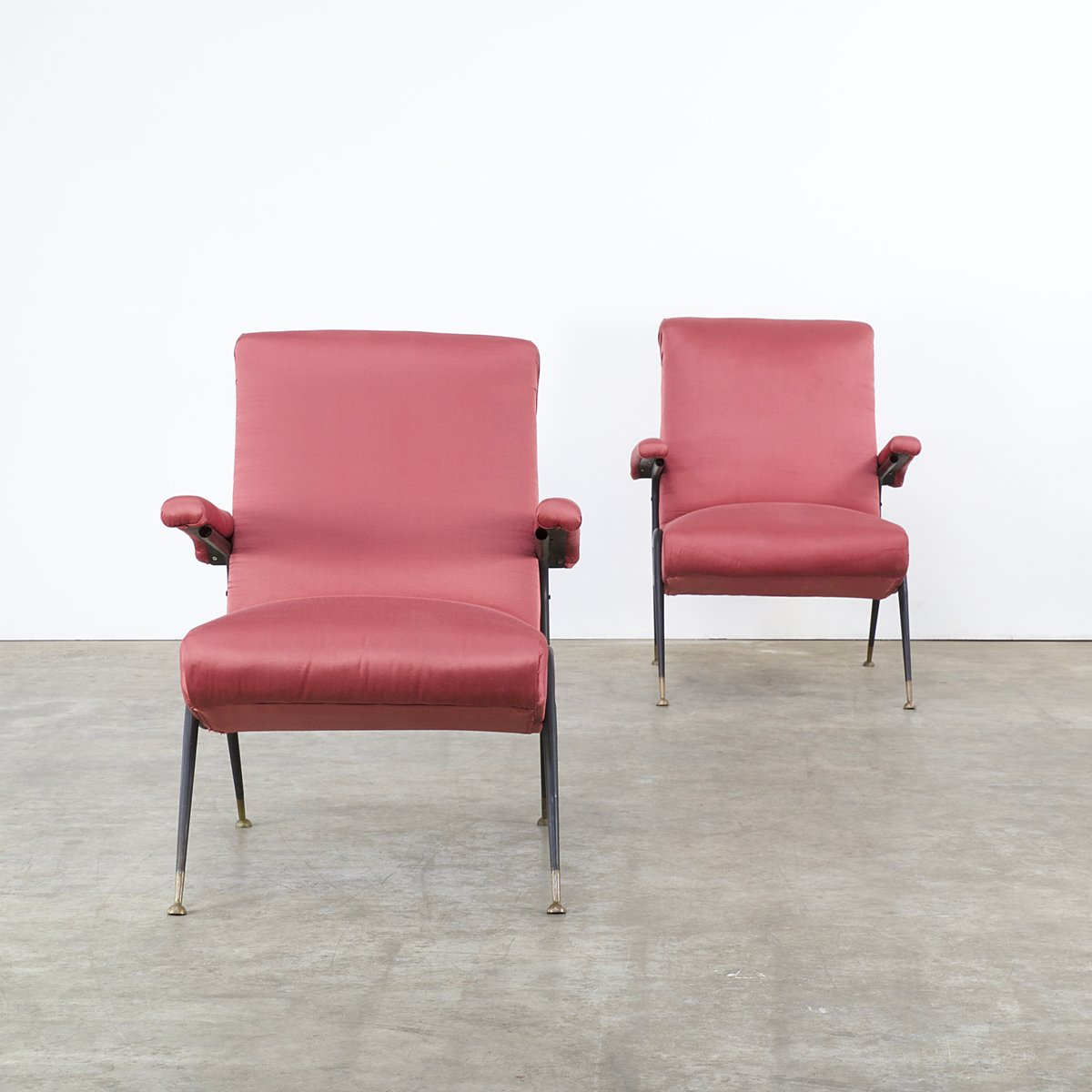 Italian chairs 1950s set of 2 for sale at pamono for Chair in italian
