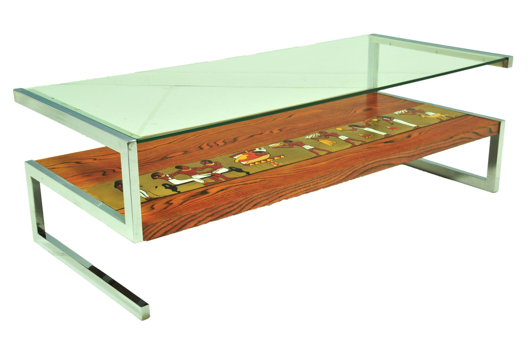 Italian Coffee Table Mid Century Italian Coffee Table From Denisco For Sale At Pamono