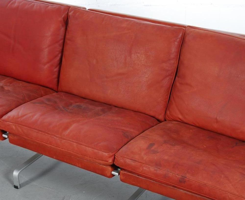 Vintage PK313 Sofa by Poul Kjaerholm for E Kold  : vintage pk31 3 sofa by poul kjaerholm for e kold christensen 6 from www.pamono.co.uk size 1000 x 818 jpeg 71kB