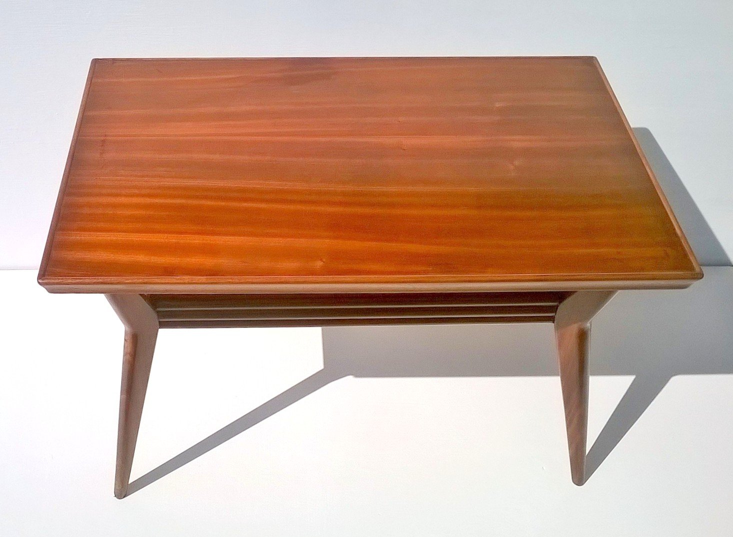 Art Deco Italian Mahogany Coffee Table 1930s For Sale At Pamono