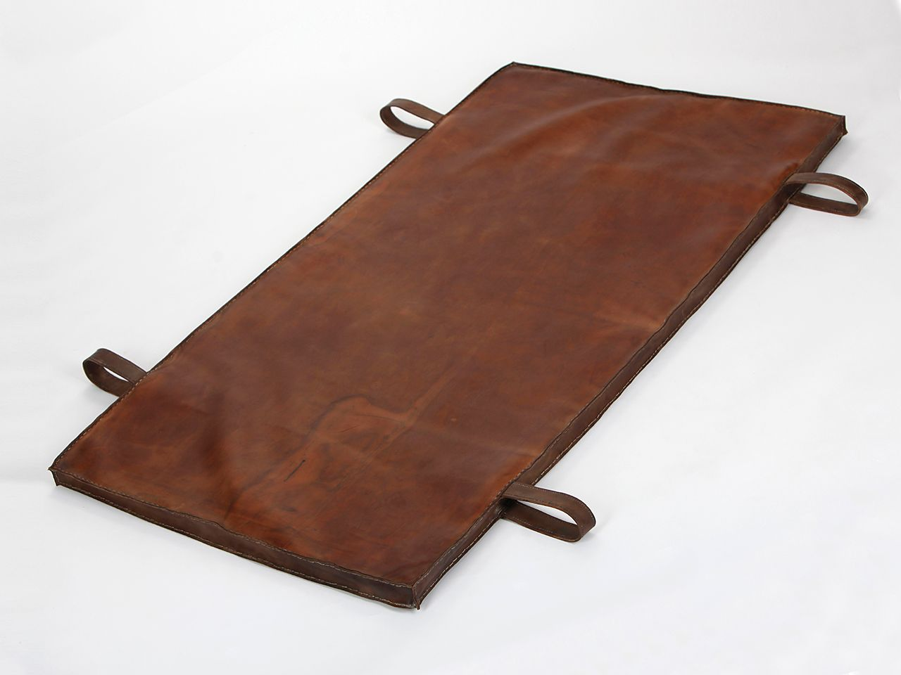 vintage leather gymnastics mat 1940s