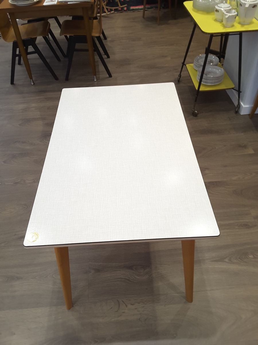 Dining table with formica top 1950s for sale at pamono - Formica top kitchen tables ...