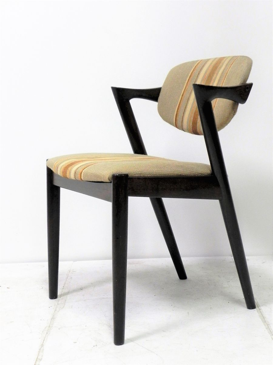 Model 42 chairs by kai kristiansen for schou andersen 1950s set of 4 for sale at pamono - Kai kristiansen chairs ...