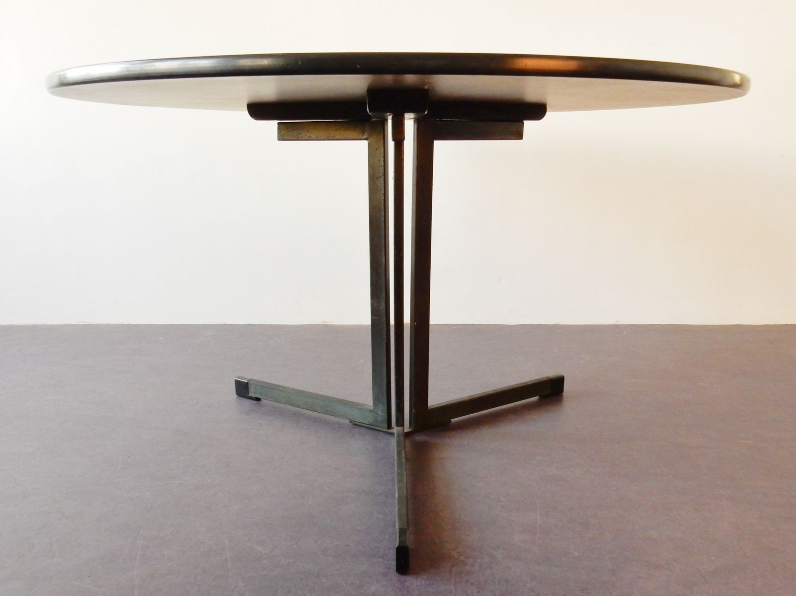 vintage model ap103 round dining table by hein salomonson for ap