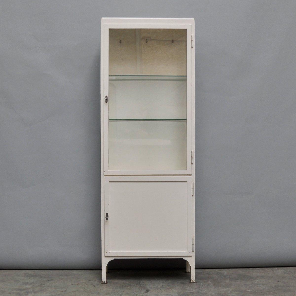 Hospital Medicine Cabinet Vintage Medicine Cabinet In Iron Glass 1950s For Sale At Pamono