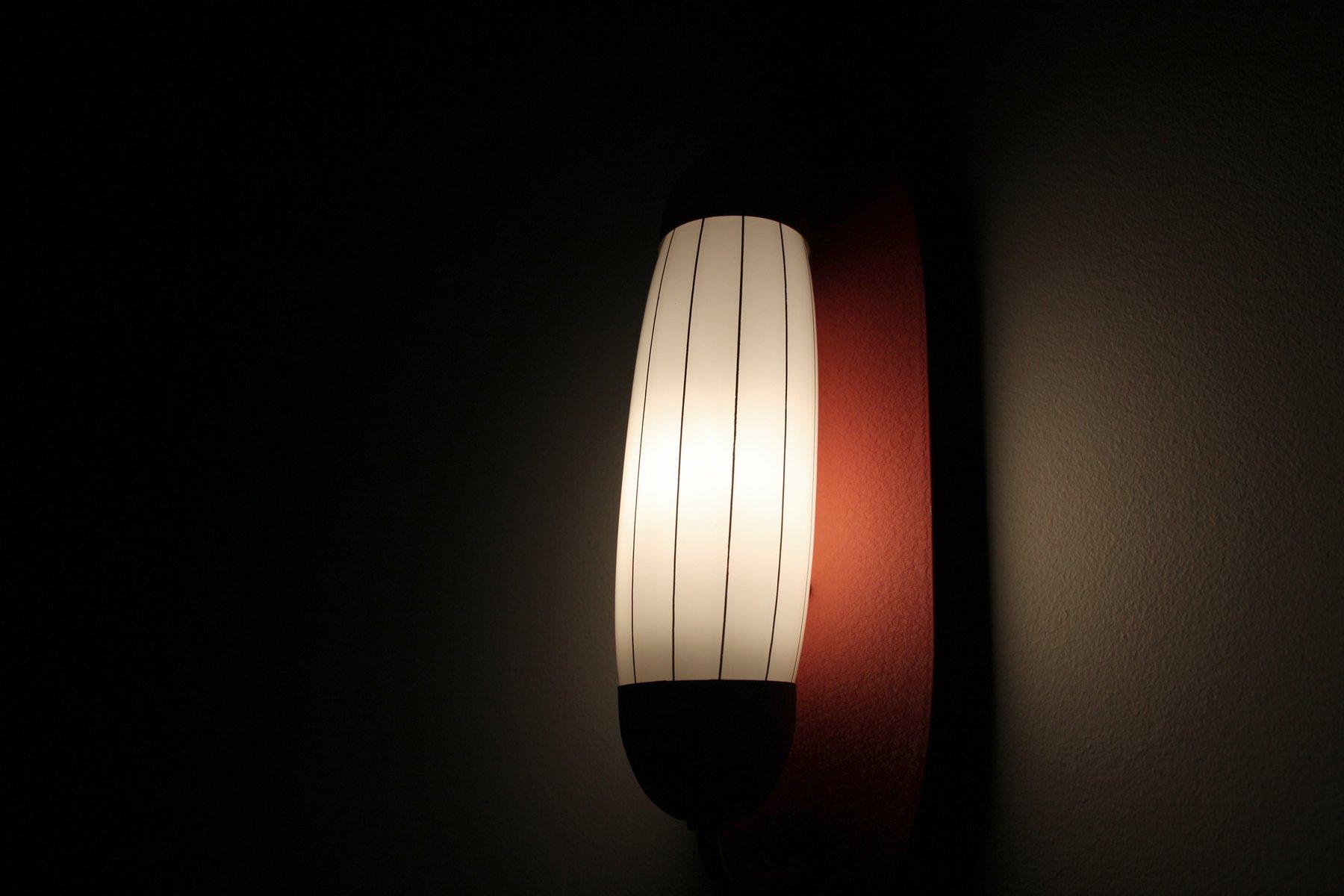 Decorative Scandinavian Wall Light, 1950s for sale at Pamono