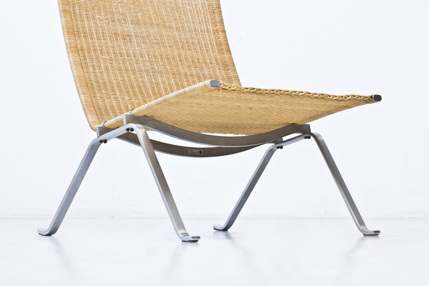 PK22 Chairs By Poul Kjaerholm For Fritz Hansen 1987 Set Of 2 For Sale At Pa