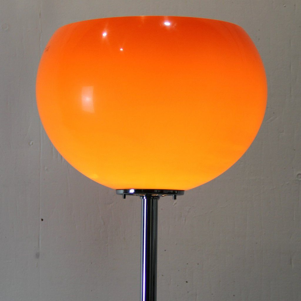 Orange floor lamp - Price Per Piece