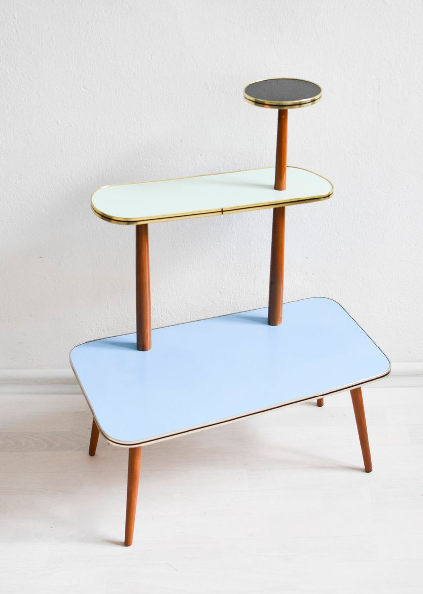 Mid Century Plant Stand Mid Century Formica Plant Stand 1960s For Sale At Pamono