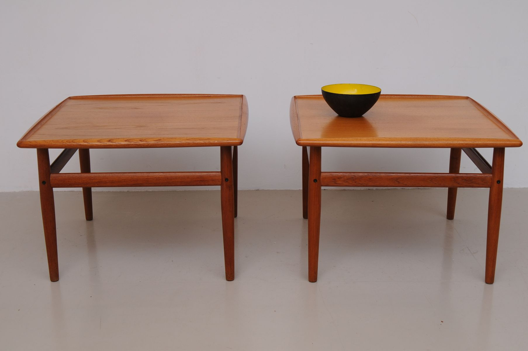 Vintage Coffee Table by Grete Jalk for Glostrup for sale at Pamono