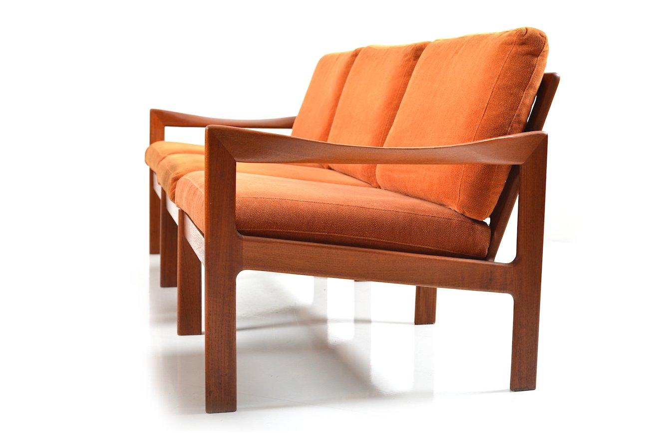 Teak Living Room Furniture Vintage Teak Living Room Set By Illum Wikkelsa For Niels Eilersen