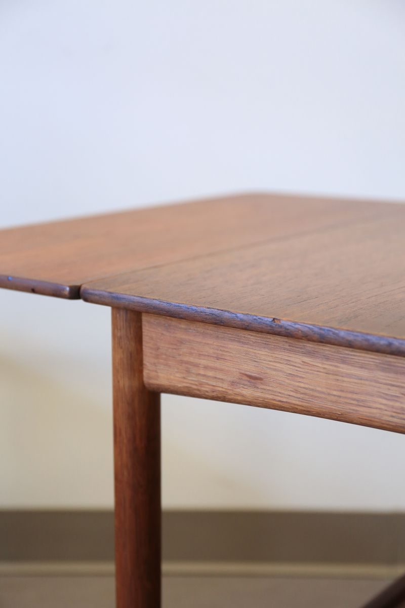 Mid Century Drop Leaf Side Table By Hans Wegner For Andreas Tuck 5.  $1,200.00. Price Per Piece