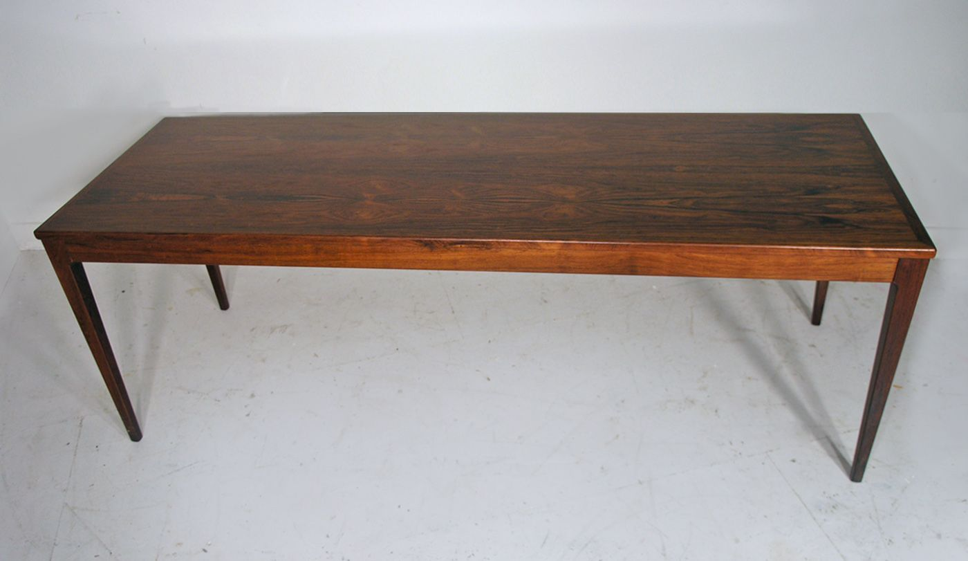 Large Danish Rosewood Coffee Table 1960s 8 1 444 00 Price Per Piece
