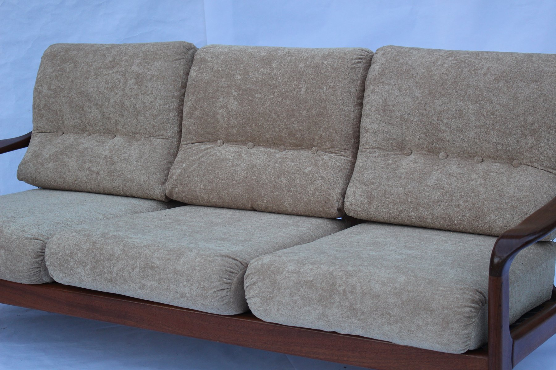 Scandinavian 3 Seater Sofa 1960s for sale at Pamono