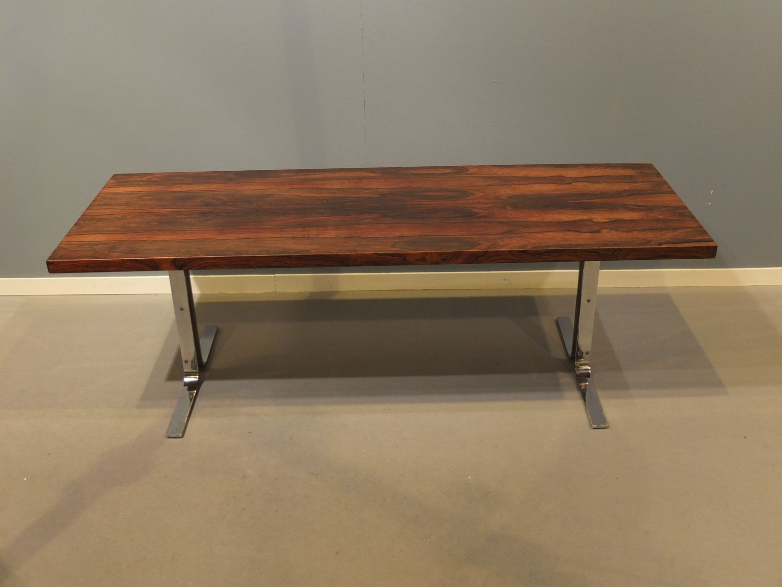 danish coffee table by georg petersen for toften 1960s for sale