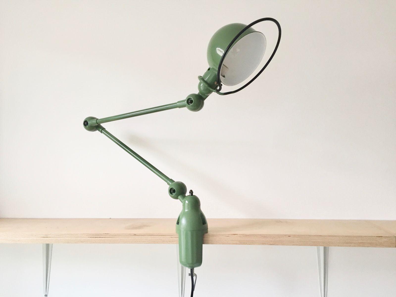 Vintage Green Desk Lamp by Jean Louis Domecq for Jield for sale – Green Desk Lamp
