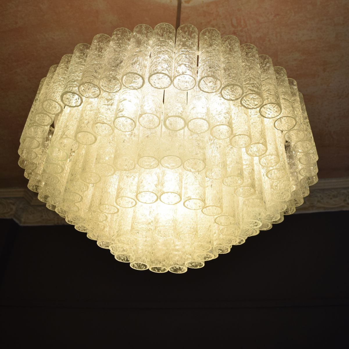 MidCentury Murano Glass Chandelier form Doria 1960s for sale at