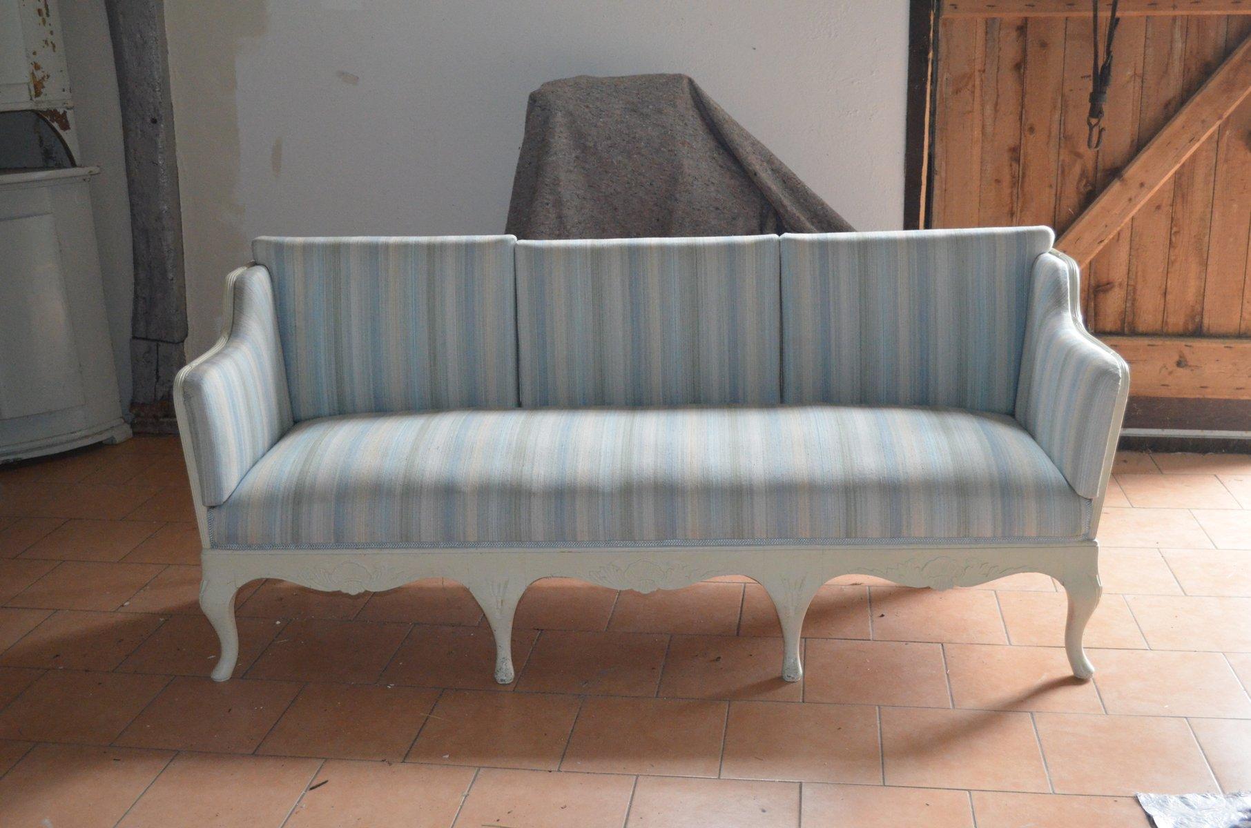 barockes schwedisches landhaus sofa bei pamono kaufen. Black Bedroom Furniture Sets. Home Design Ideas