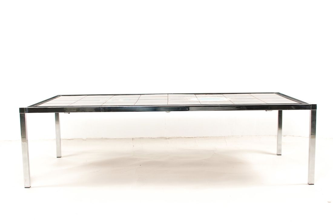 Vintage rectangle tile coffee table by jacqueline belarti for sale vintage rectangle tile coffee table by jacqueline belarti 4 124100 price per piece geotapseo Choice Image
