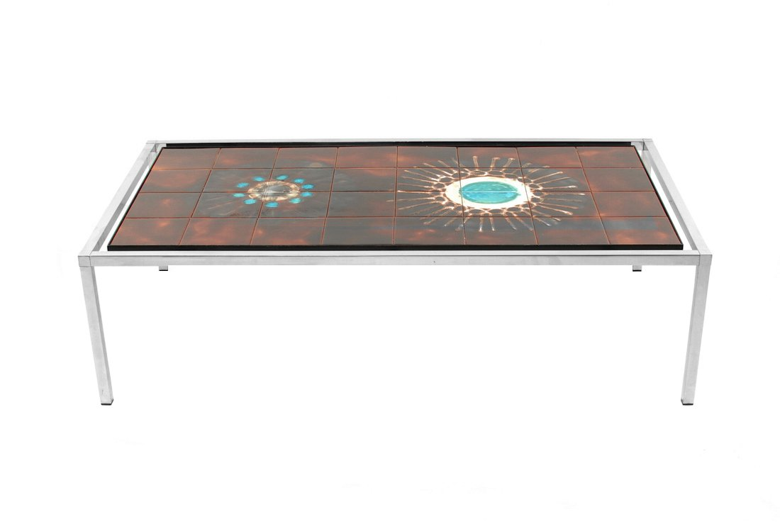 Vintage rectangle tile coffee table by jacqueline belarti for sale vintage rectangle tile coffee table by jacqueline belarti geotapseo Choice Image