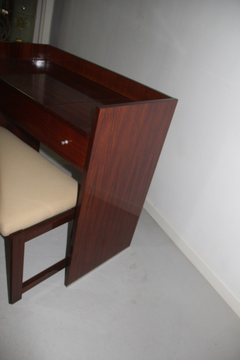 rosewood vanity desk u0026 stool from mim 1960s