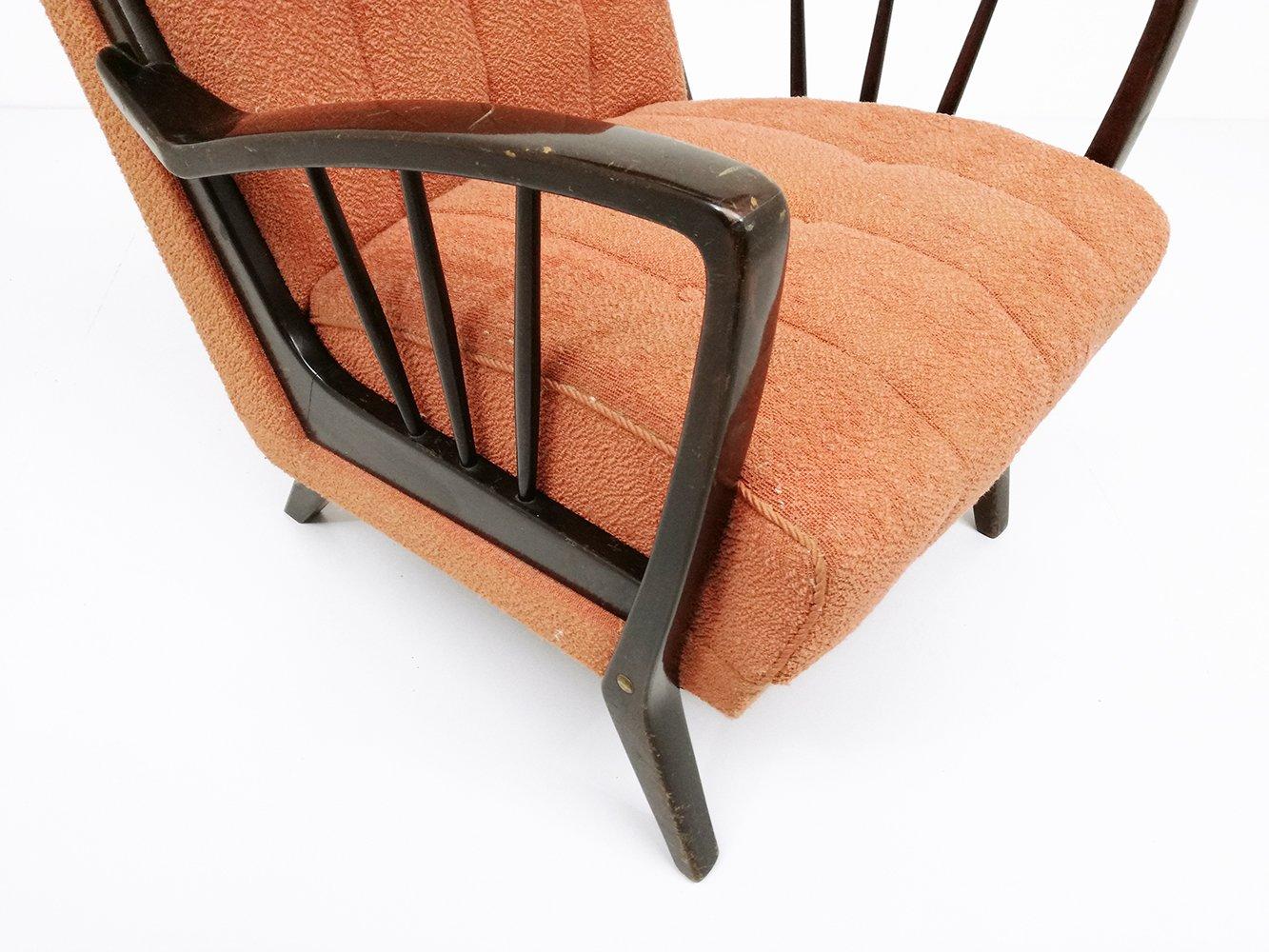 italienische cocktail sessel 1950er 2er set bei pamono kaufen. Black Bedroom Furniture Sets. Home Design Ideas