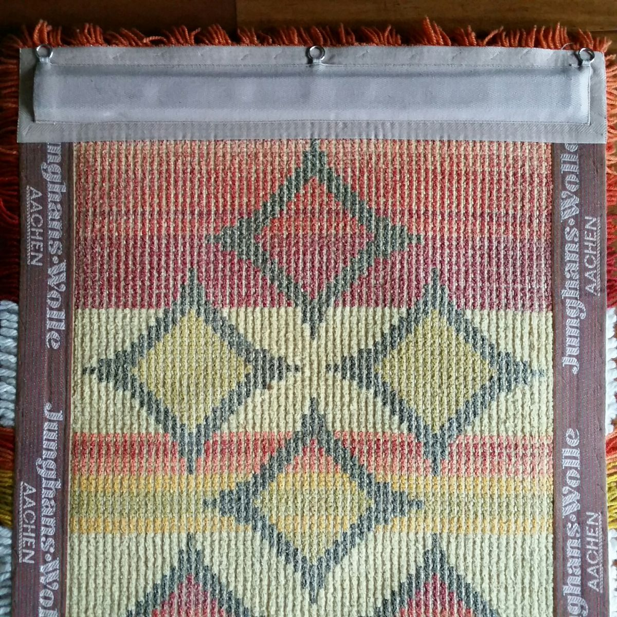 Woolen kilim from junghans wolle 1970s for sale at pamono - Junghans wolle bandana ...